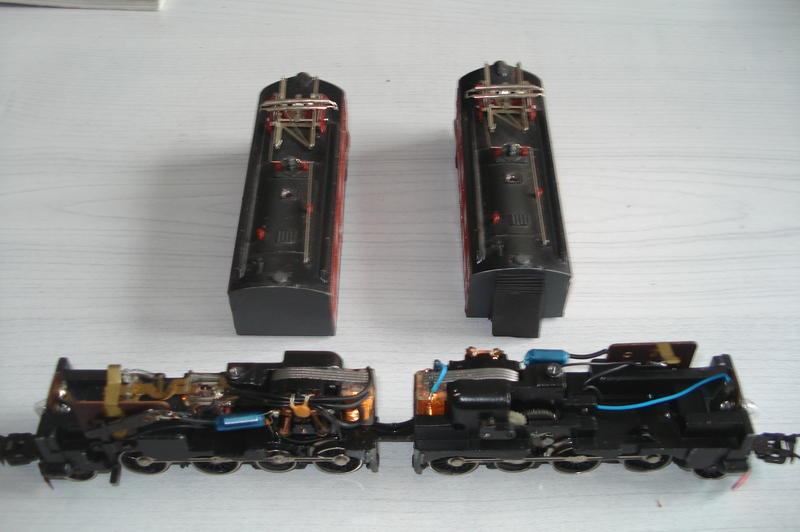 Umbau-Unikat 2-teilige SJ Dm Erzlok
