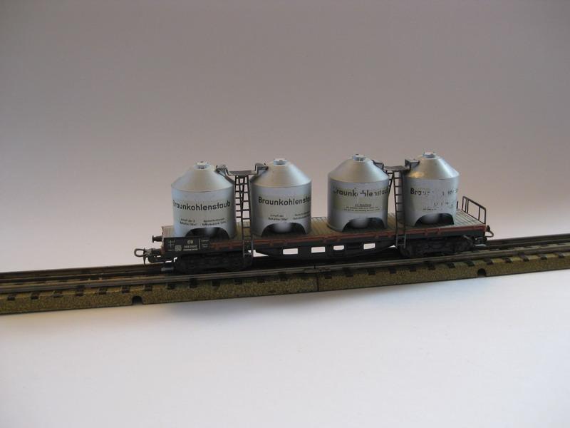 Prototyp 4-achsiger Kohlenstaubwagen