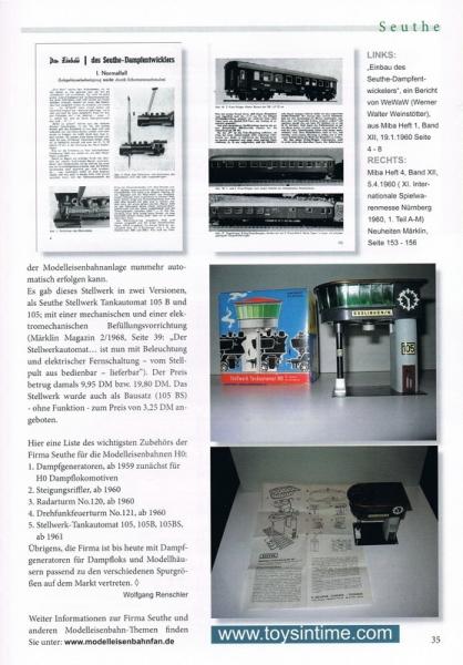 Fa. Seuthe Stellwerk Tankautomat H0 105B