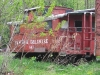 Güterzugbegleitwagen - USA-Caboose