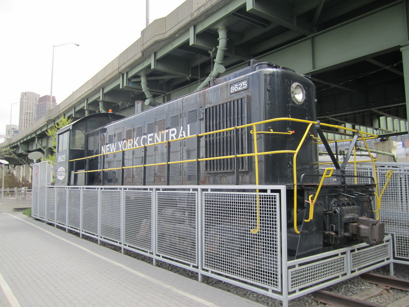 Diesel-Lokomotive  8625,  New York central