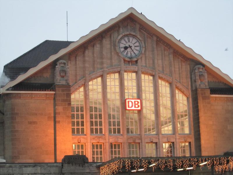 Südportal Darmstädter Hauptbahnhof