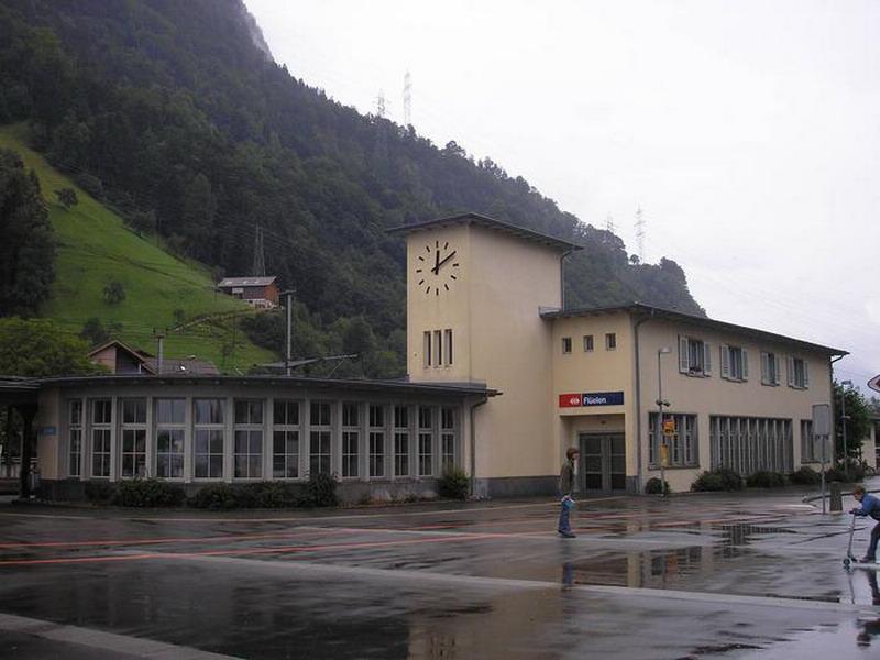 Bahnhof Flüelen Orginal