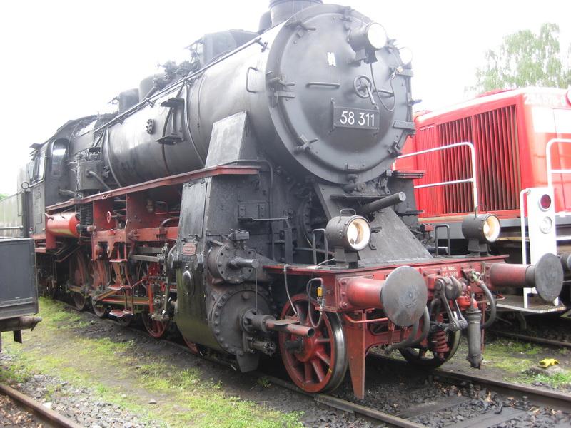 Henschel Dampflok BR 58