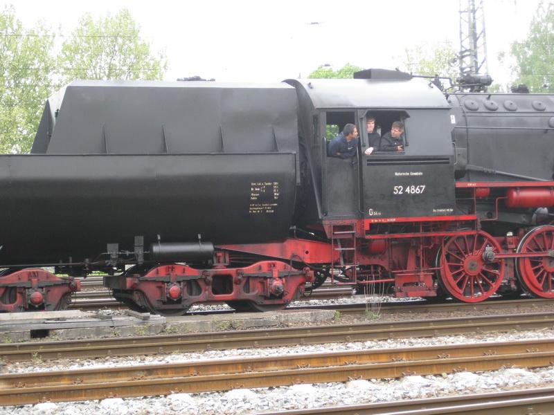 Schlepptenderlokomotive BR 52