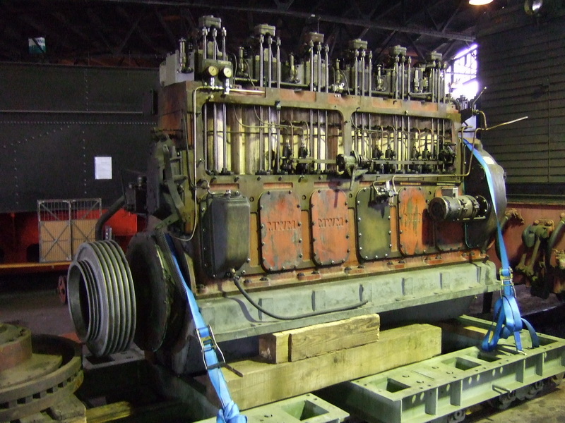 Dieselaggregat V36