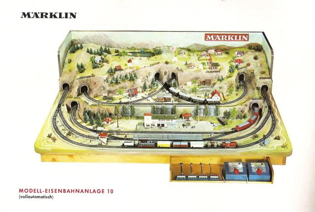 Märklin Anlage Nr. 10, Gleisplanheft 0350