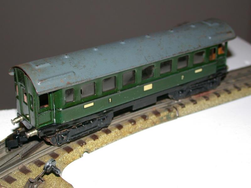 Märklin Personenwagen 4012.1 (346/4), Baujahr 1951 – 1953