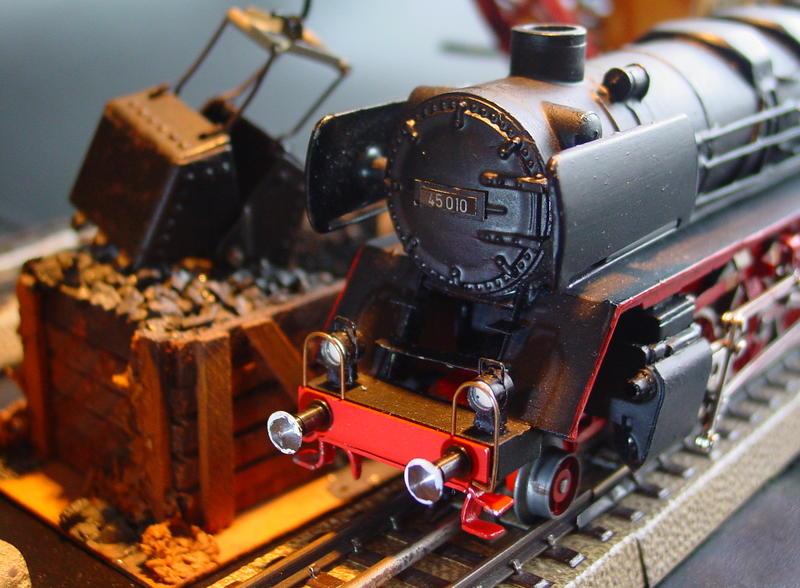 BR 45 Unikat auf Fleischmann BR 41 Basis 1364S