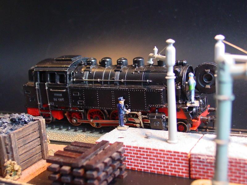 Märklin TT 800 und Vollmer Wasserkräne 6006/6007