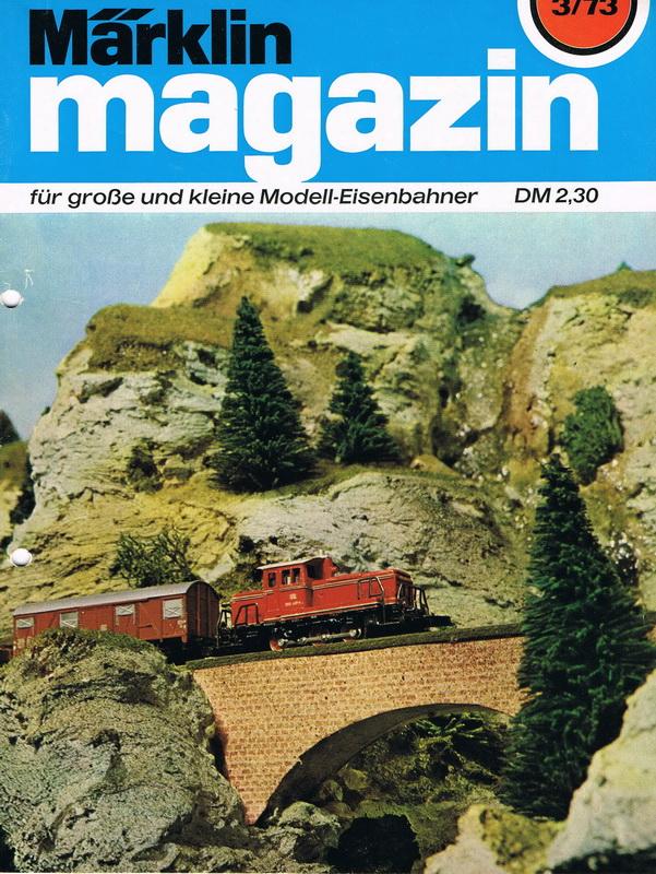 Märklin Magazin 3/73