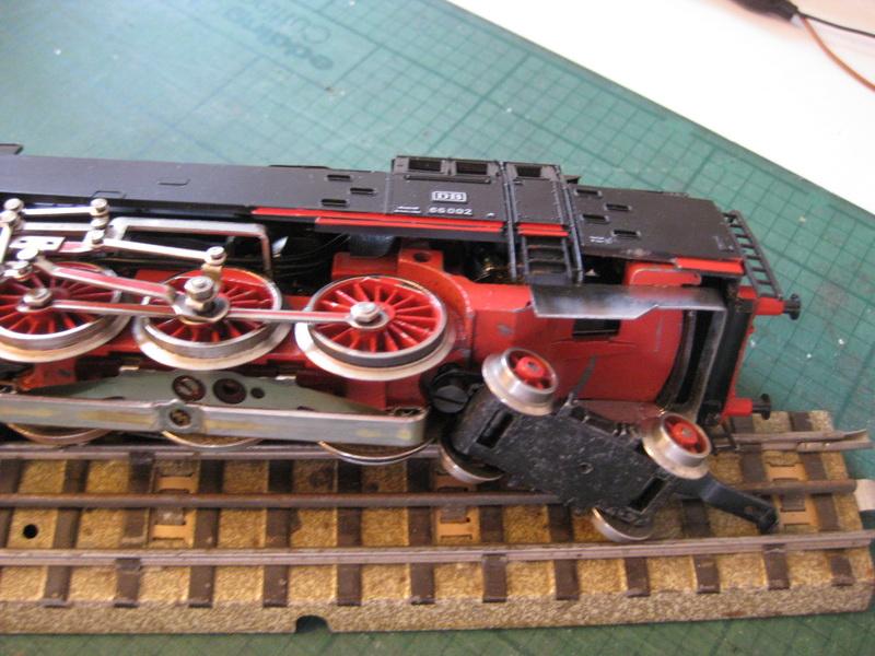 BR 66 Umbau - Verbesserung