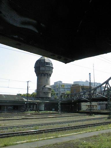 Wasserturm Hauptbahnhof Darmstadt