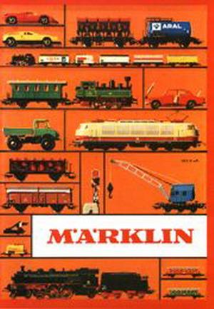 Märklin Hauptkatalog 1972 Deckblatt