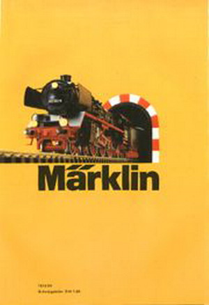 Märklin Hauptkatalog 1973 Deckblatt