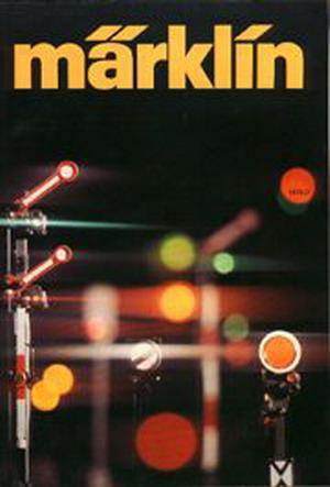 Märklin Hauptkatalog 1976 Deckblatt
