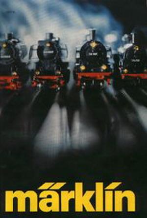 Märklin Hauptkatalog 1977 Deckblatt