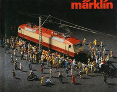 Märklin Hauptkatalog 1980 Deckblatt