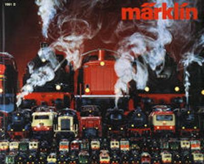 Märklin Hauptkatalog 1981 Deckblatt