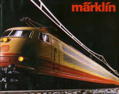 Märklin Hauptkatalog 1983-84 Deckblatt
