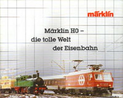 Märklin Hauptkatalog 1984-85 Deckblatt