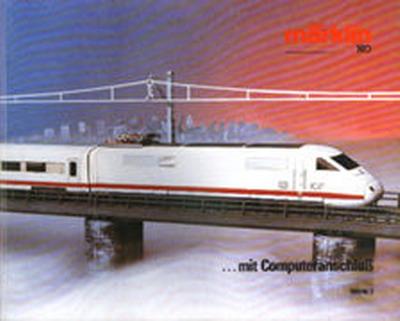 Märklin Hauptkatalog 1985-86 Deckblatt