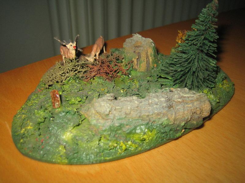 Dioramen - Landschaftsteile Spur 00/H0 Preiser