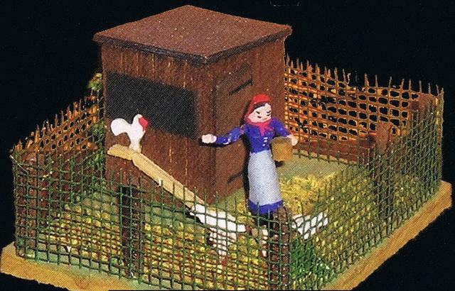 Preiser Kleiner Hühnerhof 1035