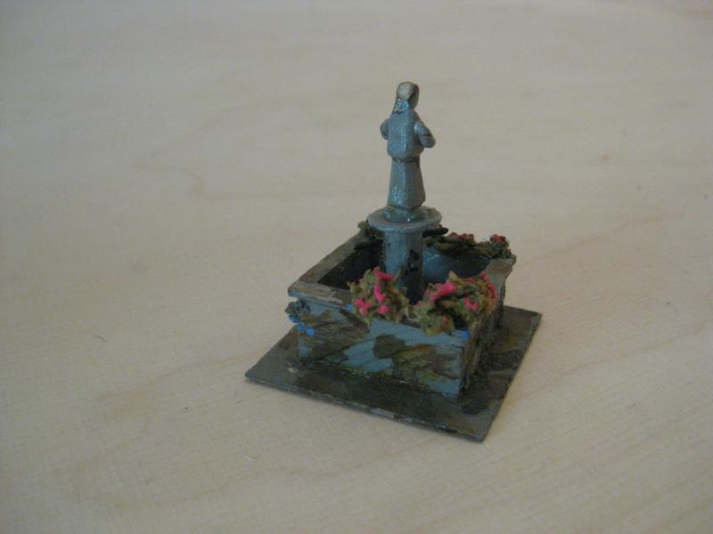 Preiser 520 Marktbrunnen