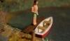 Preiser See mit Boot