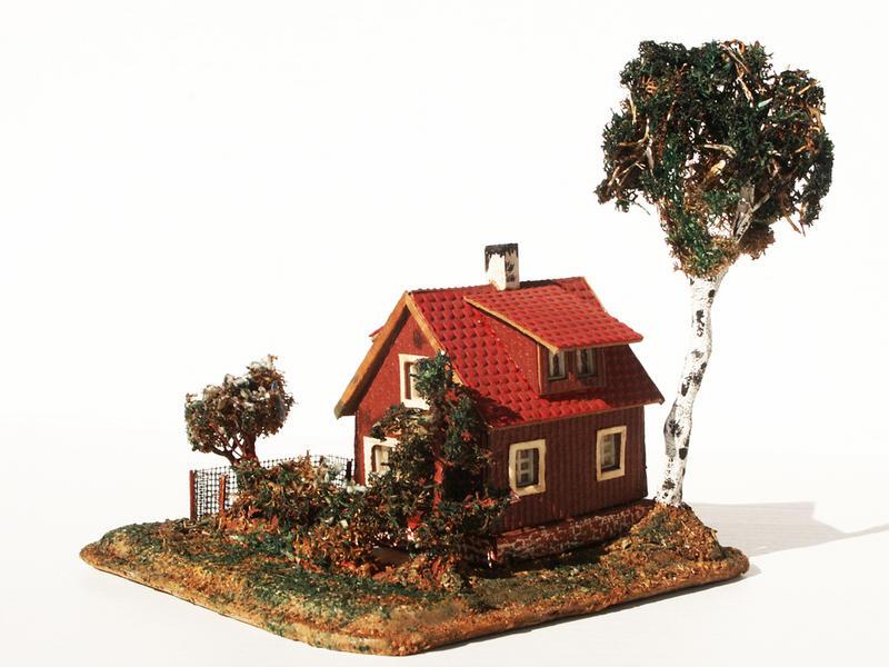 Fa. Voigt Nr. 267 Sommerhaus mit Garten
