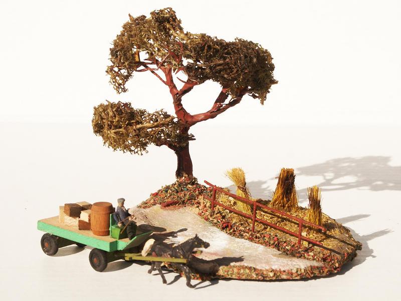 Fa. Voigt Nr. 312 Kornfeld mit Baum