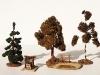 Fa. Voigt Nr. 314 Holzschuppen und diverse Bäume