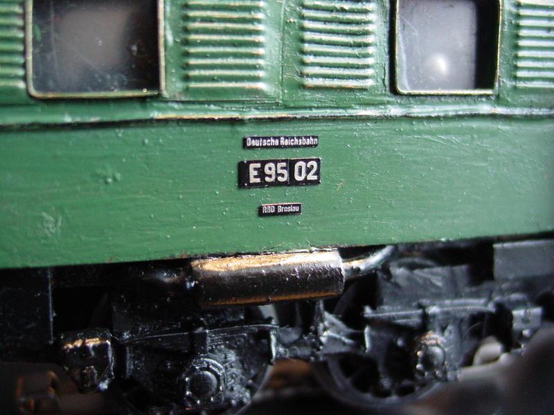 Unikat E`lok E 95 für Märklin