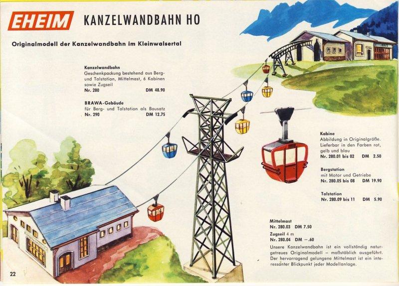 Brawa Katalog 1964/65 Auszug