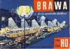 Deckblatt Brawa Katalog 1964/65