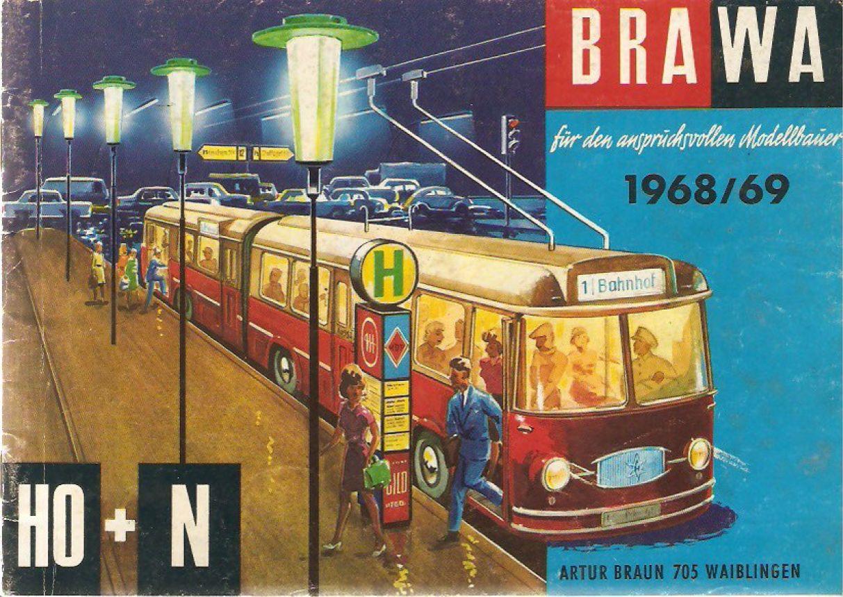Deckblatt Brawa Katalog 1968/69