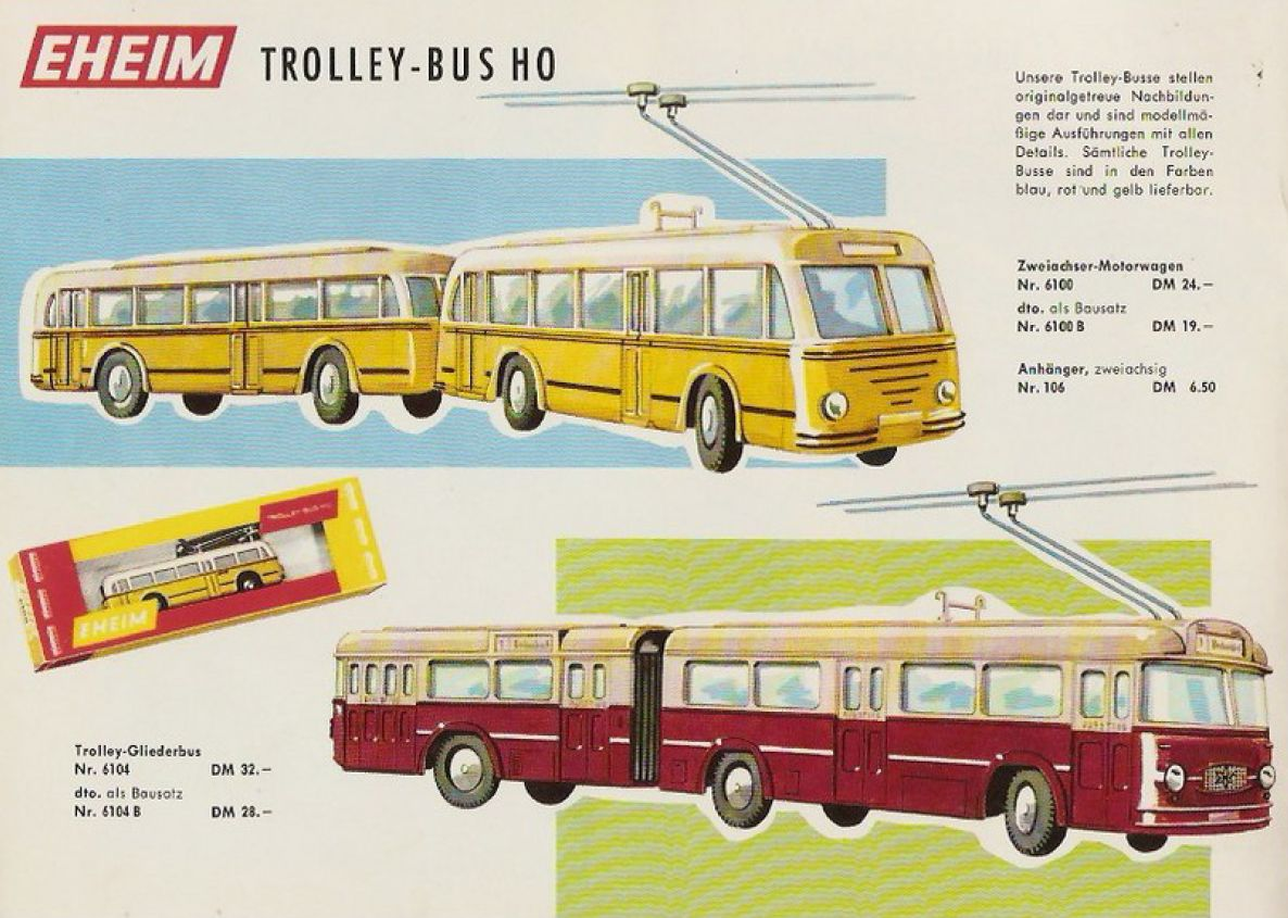 Eheim - Brawa Trolley-Bus H0