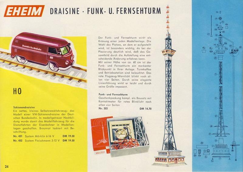 Firma Eheim, Brawa Funk- und Fernsehturm