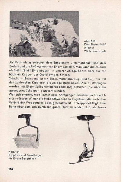 Otto Hübchen, Die Modell-Eisenbahn in der Landschaft