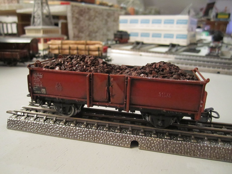 Freelance Märklin Eigenbau - offener Güterwagen
