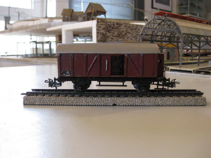 Selbstbau-Güterwagen-Modelle H0