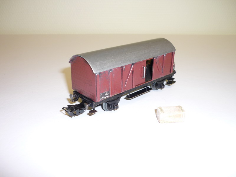 Selbstbau Güterwagen H0