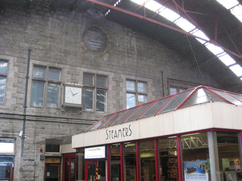 Bahnhof Penzance Cornwall