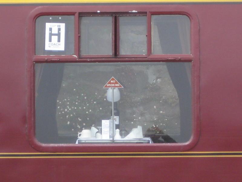 Speisewagen British Railways