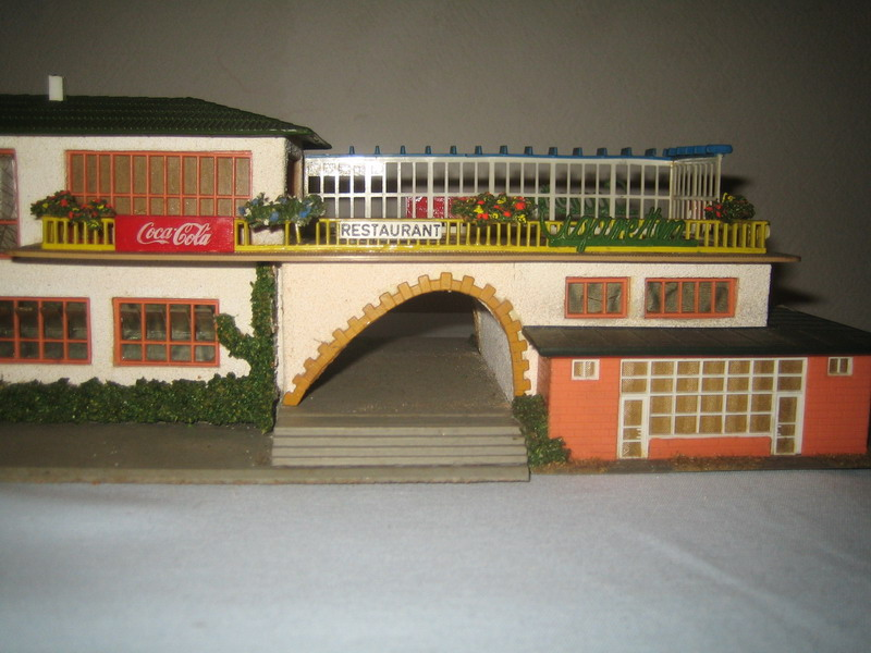 Faller Bahnhof Cortina 113/B-113