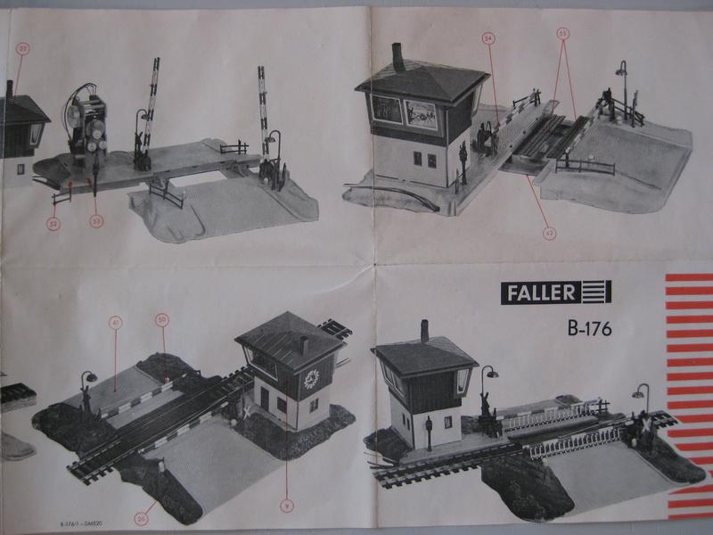 Faller Bahnübergang B-176