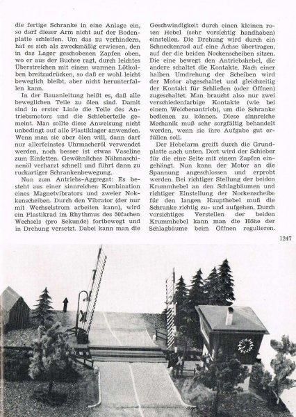 Faller Magazin Faller Bahnübergang B-176