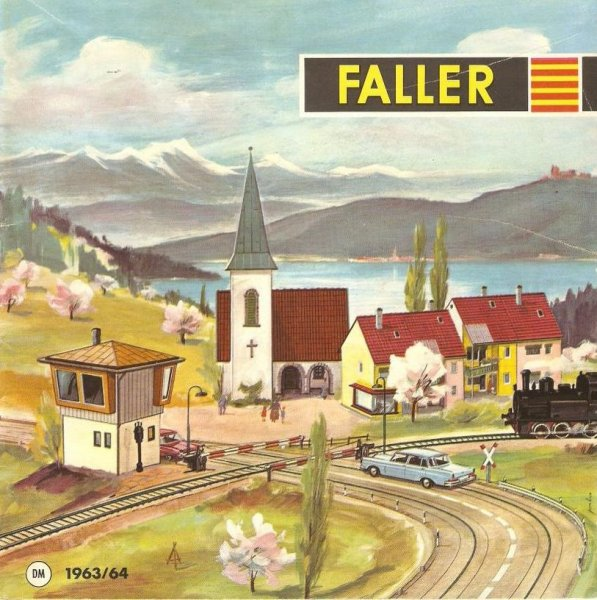 Faller Katalog 1963/64 Bahnübergang B-176