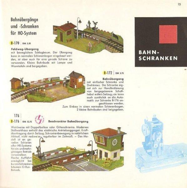 Faller Bahnübergang B-176 – Wolfi`s Modelleisenbahn Seiten